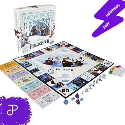 Monopoly Game: Disney Frozen 2 Edition Board Game for Ages 8+ 2019