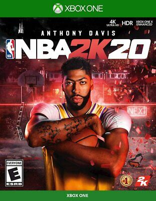 NBA 2K20 Xbox One (Standard Edition, 2019)- BRAND NEW/SEALED, FAST SHIPPING!