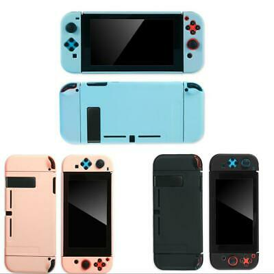 Solid Color Hard Shell Case Cover for Nintendo Switch Console Joycon Handheld NS