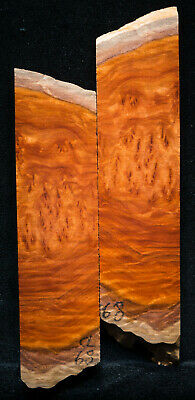 """Coolibah Burl #68 Knife Scale 5.7-7""""x 1.75""""x 3/8"""" see 100 species in my store"""