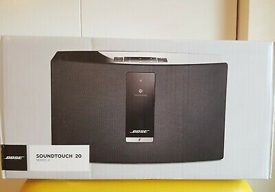 NEW SEALED Bose SoundTouch 20 Series III 3 Wireless Music System Black Alexa