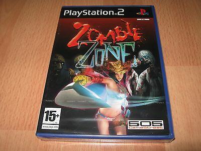 Zombie Zone Game PS2 Playstation 2 - Brand New & Sealed - RARE