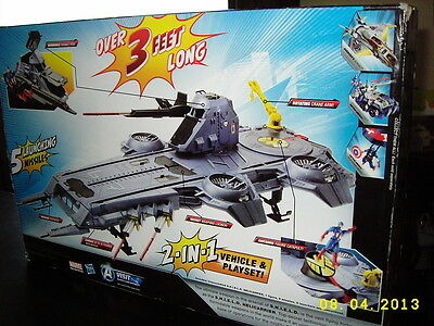 HASBRO Marvel The Avengers Movie Series S.H.I.E.L.D. Helicarrier Playset NEW!