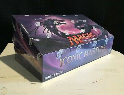 Magic the Gathering Iconic Masters Booster Box Brand New Sealed MTG Priority