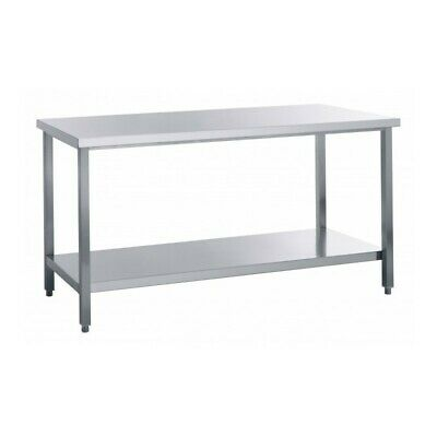 Table Work Steel without Tier - Width 160 CM