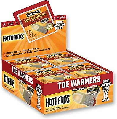 HeatMax Toasti Toes Foot Warmer (40 Pairs),FREE 100% SHIPPING