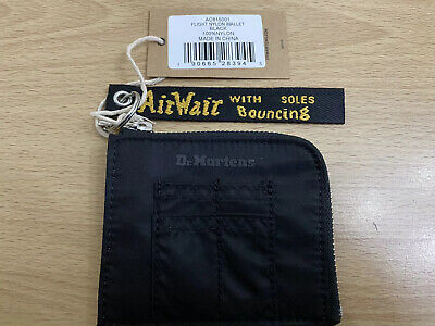 Dr. Martens Flight Nylon Wallet - Black Nylon BNWT