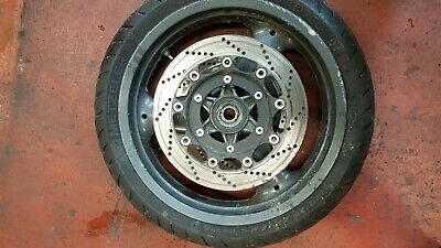 Triumph Trophy 1200 1996 Front Wheel With Discs  & Usable Tyre