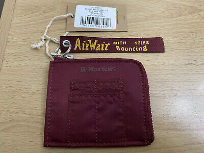 Dr. Martens Flight Nylon Wallet - Cherry Red Nylon BNWT