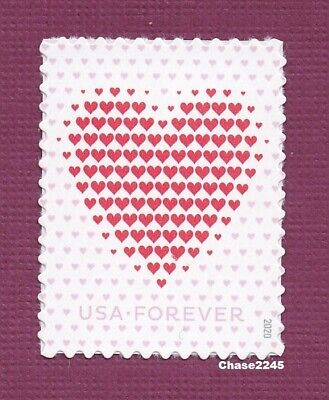 *NEW* 2020 Made of Hearts - Love Series - Mint NH Single - *In Stock*