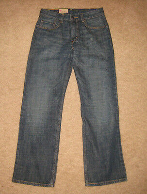 Boy's Levi's 514 Straight Fit Blue Jeans Dark Wash 27x27 New with Tags NWT Levis