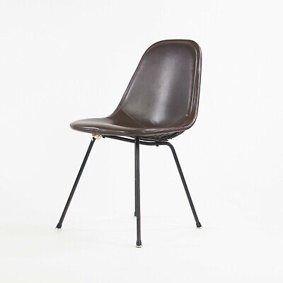 1954 Herman Miller Eames Wire Shell Chair X Base DKX-1 All Original Redwood Ave