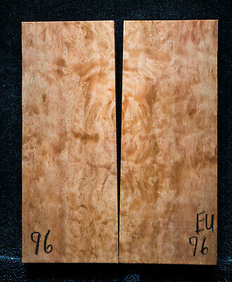 """Eucalyptus Burl #96 Knife Scales 5""""x2""""x3/8"""" see100 species in my store"""