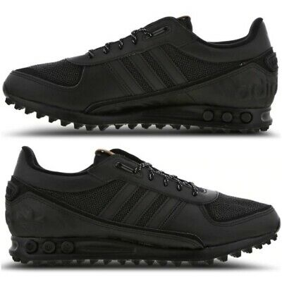 adidas LA Trainer II Black White Gold Men's Trainers All Sizes Limited Stock | eBay