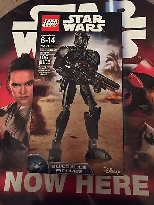 LEGO Star Wars 75121 Imperial Death Trooper Buildable Action Figure NIB