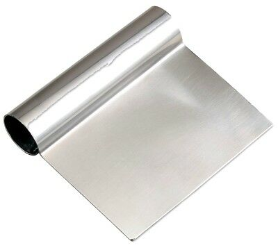 """Browne Foodservice 181SS 4.5"""" x 5"""" Dough Scraper Brand New Stainless Steel"""