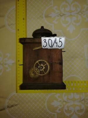 Very Nice Vintage Wall Clock Case for restoration Antiques