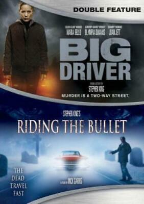 BIG DRIVER / STEPHEN KING'S RIDING THE BULLET (Region 1 DVD,US Import,sealed.)