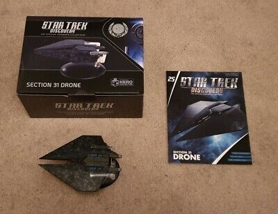 Eaglemoss Star Trek Discovery: Issue 25 : Section 31 Drone (PRESALE/PREORDER)