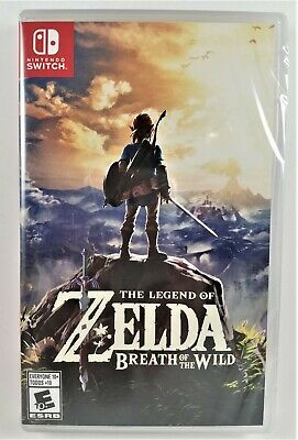 Legend of Zelda: Breath of the Wild (Nintendo Switch, 2017) Sealed in Plastic