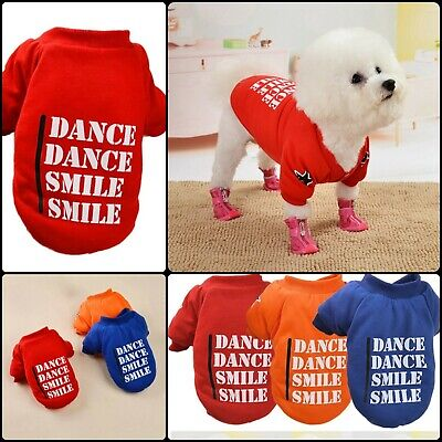 WINTER Dog Puppy Pet Cat Sweater Clothes Jacket Coat Chihuahua For Small Dogs