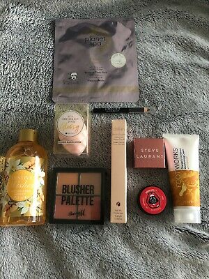 Glossy box make up bundle Delilah Brow Blush Palette Steve Laurant Lord & Berry
