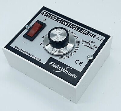 Brand New   Flakt Woods ME1.1 speed controller Including Back Box