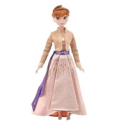 """Disney Store Frozen 2 : Anna and Elsa Doll Set 12"""" ONLY ANNA Princess SOLD OUT"""