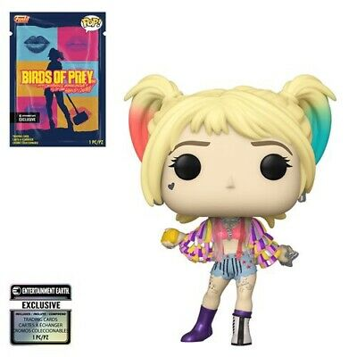 Funko Pop! Birds of Prey Harley Quinn Caution Tape w/ Collectible Card In Stock