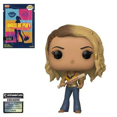 Funko Pop! Exclusive Birds of Prey Black Canary  w/ Collectible Card  In Stock