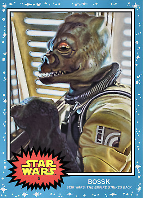 TOPPS STAR WARS LIVING SET BOSSK #5 In Hand!