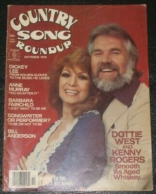 Country Song Roundup magazine DOTTIE WEST Kenny Rogers October 1978 Anne Murray