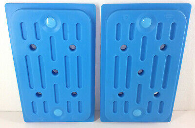 (2) Cambro CamChiller CP1220 Food Pan Ice Pack Chillers