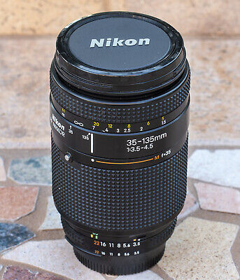 Nikon AF Nikkor 35-135mm f/3.5-4.5 Zoom Lens - Tested and Working Perfectly