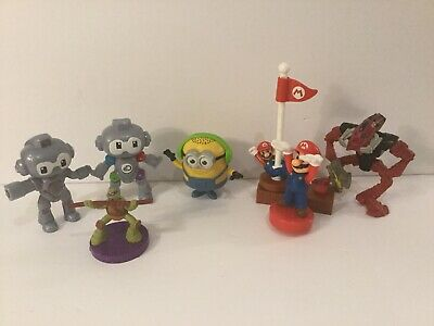 Large Assorted Lot Of 7 2007-2019 Old McDonalds  Toys Untested Ships From Canada