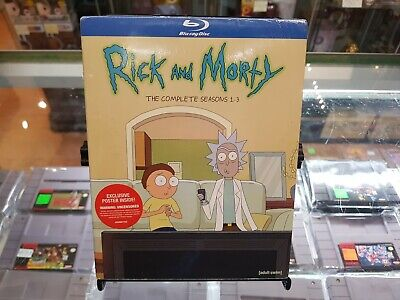 Blu Ray - Rick and Morty Complete Seasons 1-3 - SEALED