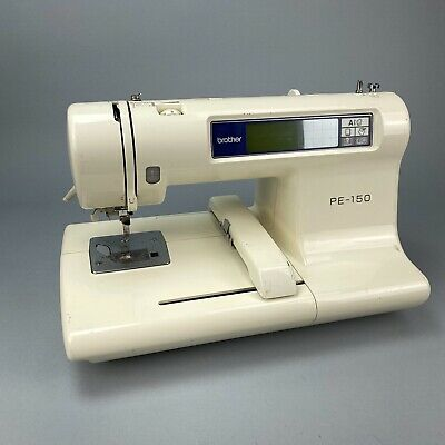 Brother PE-150 Computerized Embroidery Sewing Machine Tested* Read*