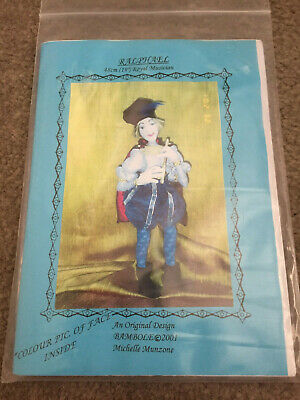 "Cloth Doll Pattern Ralphael 19"" Royal Musician By Michelle Munzone 2001"
