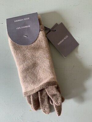 New Hannah Rose 100% Cashmere 3 in1 Convertible Smart Phone Texting Gloves
