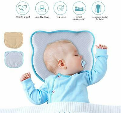 Homvik Baby Pillow For Plagiocephaly Cushion For Flat Head Viscoelastic Pillow