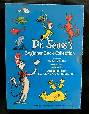 Dr. Seuss's Beginner Book Collection Set Of 5 Hardcover Books NEW  Cat in Hat...