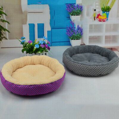 Dog Beds Pet Cushion House Soft Comfortable Warm Kennel Blanket Small/Large