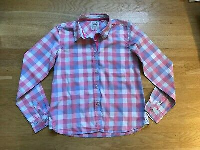 Girls crew clothing shirt top, size 10-11, excellent condition
