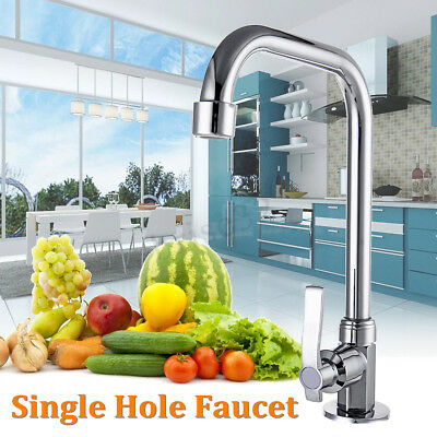 Floor Mount Single Hole Faucets Kitchen Wash Basin Faucet Mixer Water Taps AE