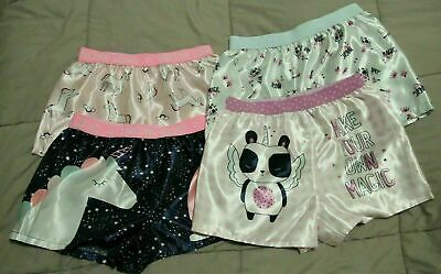 Lot of Girls Pyjama Sleep Shorts Bottoms. EUC Size 6-10 Suit 10yr