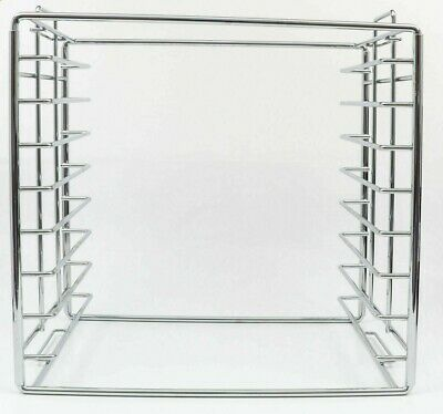 Dental Instrument Tray Rack Set up Trays (Holds 9) Chrome