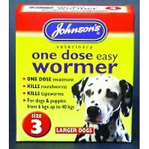 JVP One Dose Wormer for Large Dog Size 3 - 20502