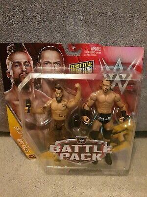 WWF WWE Elite Mattel Basic Battle Pack Wrestling Figures NXT Cass Amore New