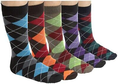 Fun Patterns and Colors Breathable Men/'s Dress and Casual Socks Cotton Blend -by Zeke Crew
