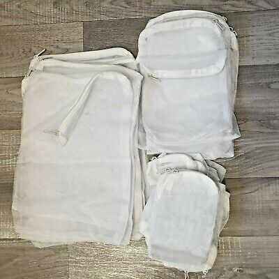 Aquarium  Filter Media Net  Bags , Nylon Zip .Uk Stock. Marine And Freshwater